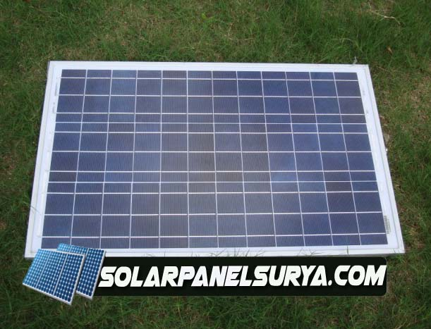 Solarcell Panel Surya 100watt Jual Solar Panel Surya