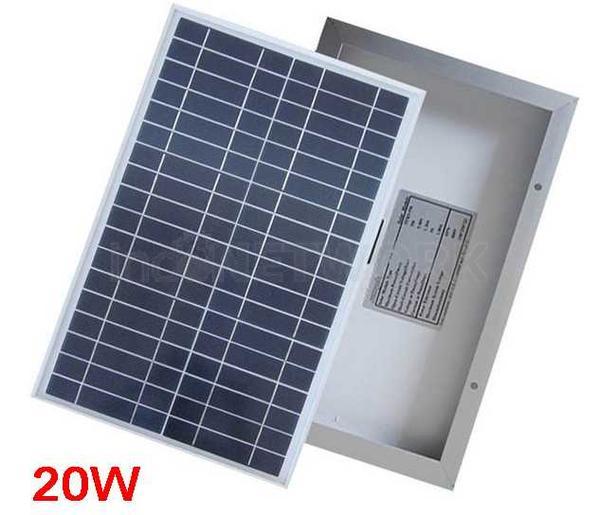 Solar cell Panel surya 20wp