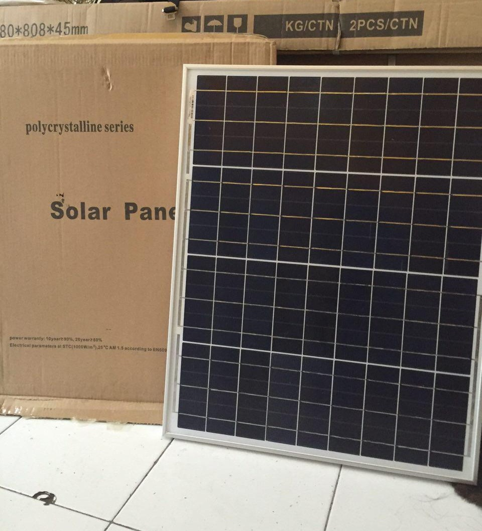 Jual Solar Panel 50wp Polycristaline Solar Panel Surya