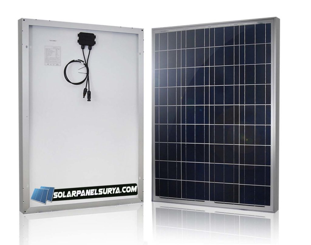 Solarcell Panel Surya 100watt Solar Panel Surya Harga