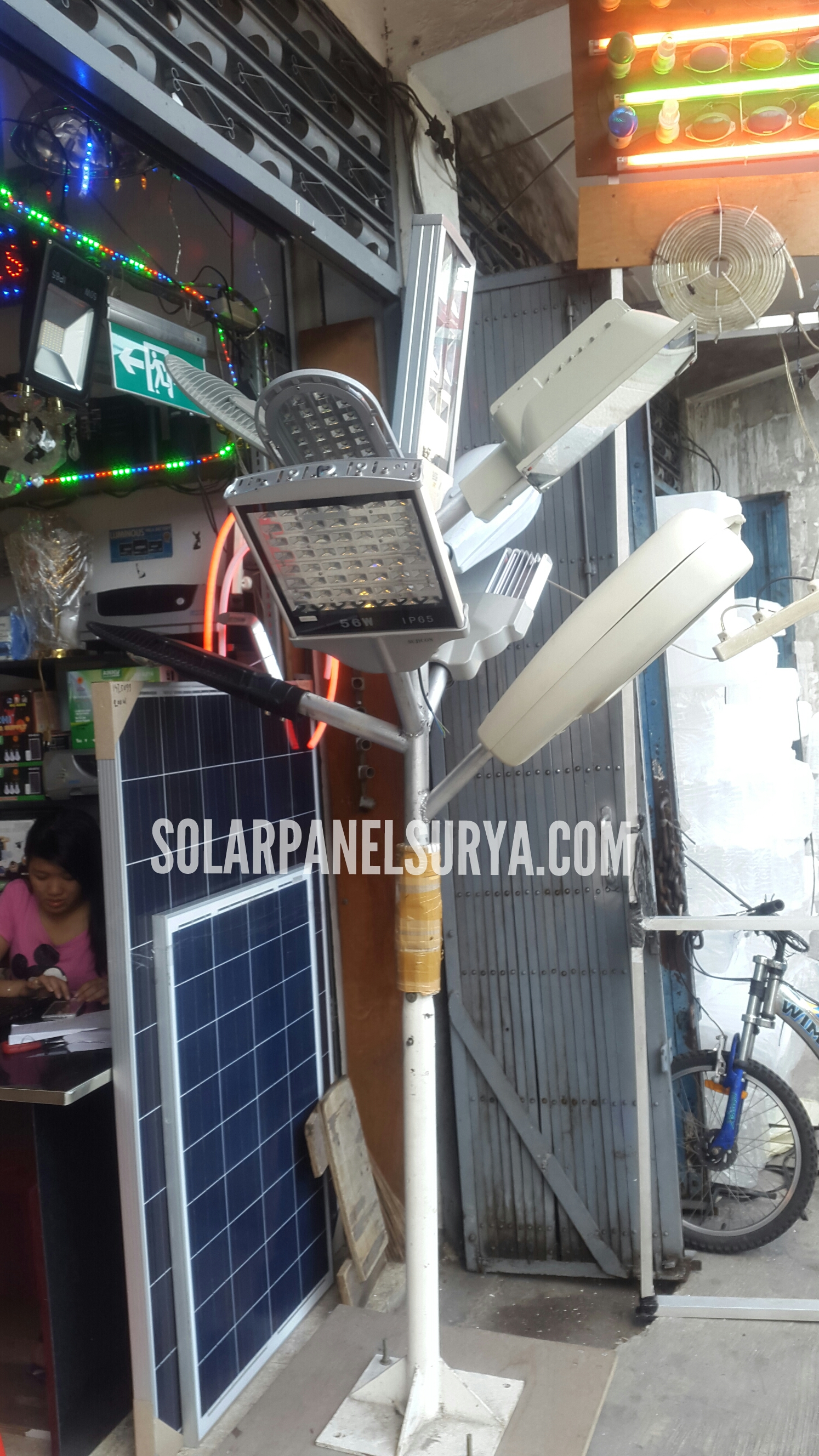 Solar Panel Penerangan Jalan Umum Pju 60watt Solar Panel