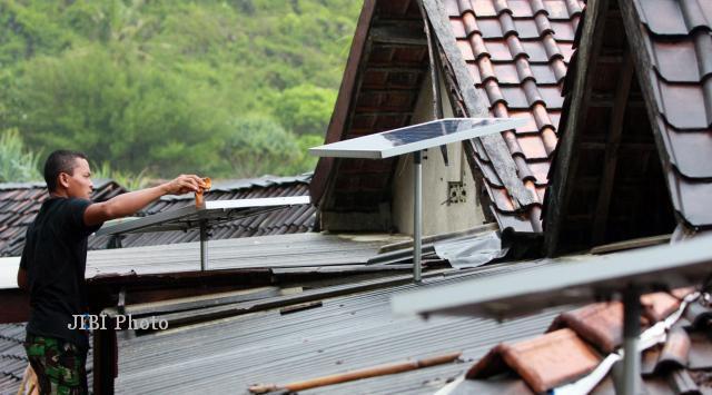 harga panel surya perumahan