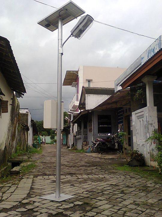 PAKET SOLAR PANEL PJU TENAGA SURYA 30W