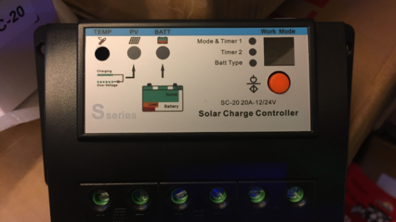 Jual Sseries Solar Charger Controller 20a 12/24v