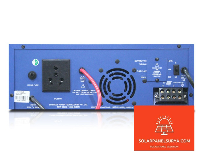 harga Luminous Solar Hybrid Inverter 850Va
