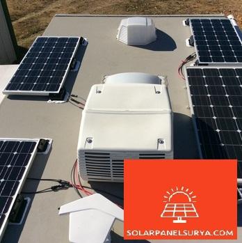 harga panel surya 100watt