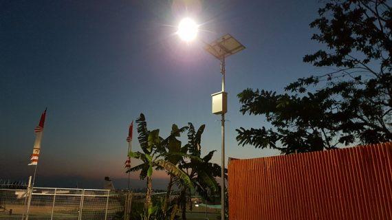 PJU Solar Cell 20 watt Lampu PJU Tenaga Surya LED 20w