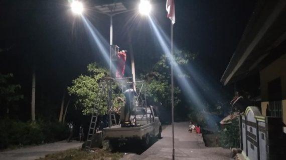 PJU Tenaga Surya LED 30w