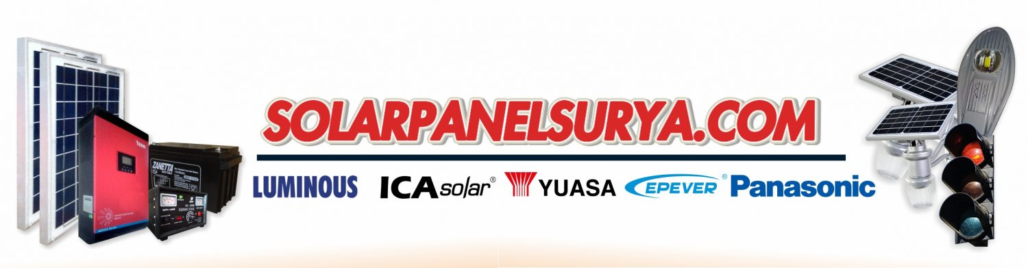 SOLAR PANEL SURYA | PJU Tenaga Surya | PJU Solar Cell | Penerangan Jalan Umum (PJU)