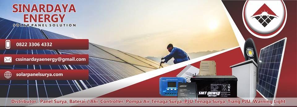 SOLAR PANEL SURYA | PJU Tenaga Surya | PJU Solar Cell | Penerangan Jalan Umum (PJU)