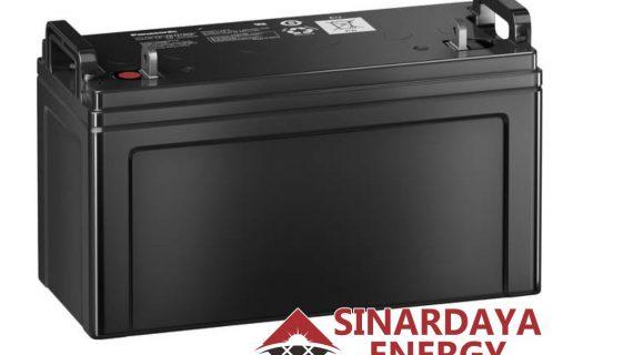 Battery Solarcell Panasonic 12V 100Ah | Baterai Aki Tenaga Surya Panasonic