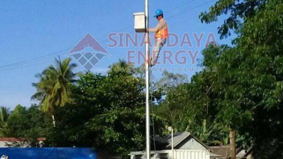 PJU Tenaga Surya LED 60w