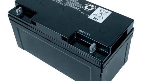 Battery Solarcell Panasonic 12V 65Ah | Baterai Aki Tenaga Surya Panasonic
