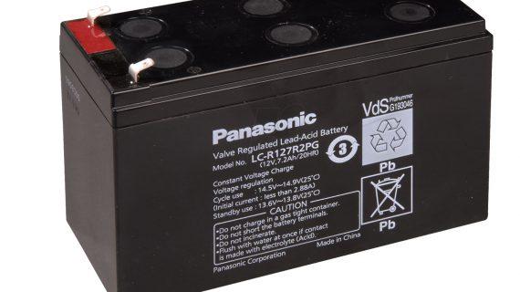 Jual Aki Tenaga Surya Panasonic 12v 7ah | Baterai Solarcell panasonic 12v 7ah